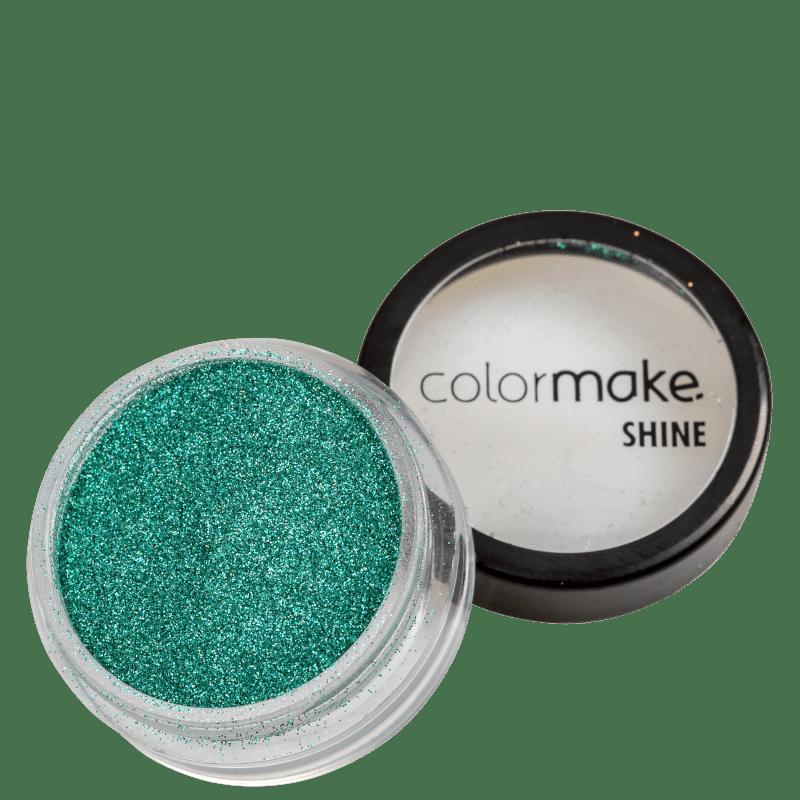 Colormake Shine Extra Fino Azul Turquesa - Glitter 3g