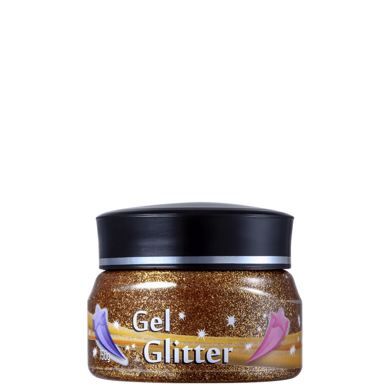 Colormake Gel Ouro - Glitter 150g