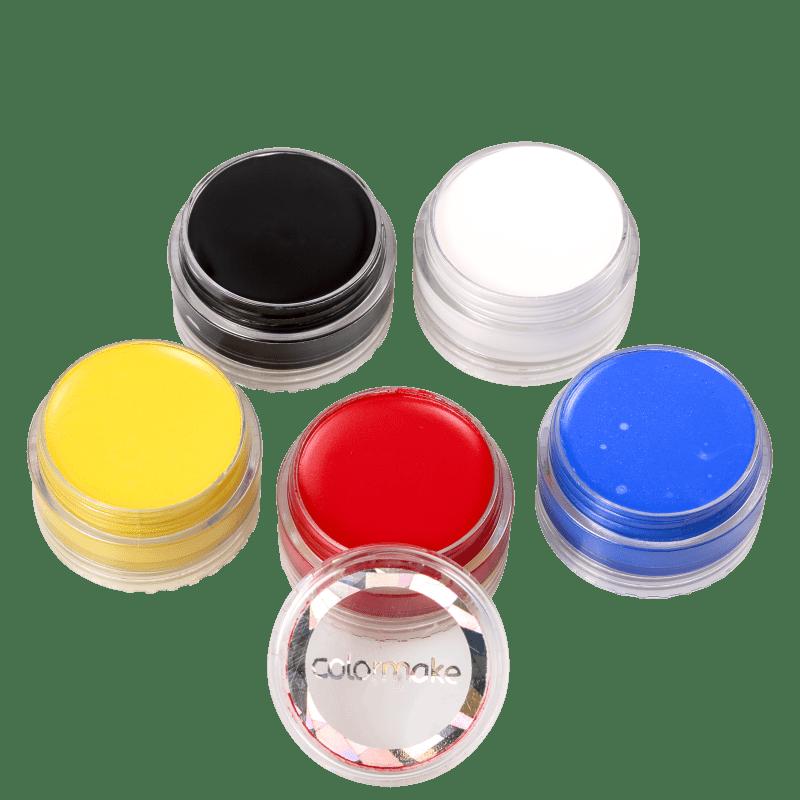 Kit Colormake Tinta Cremosa Facial (5 Produtos)