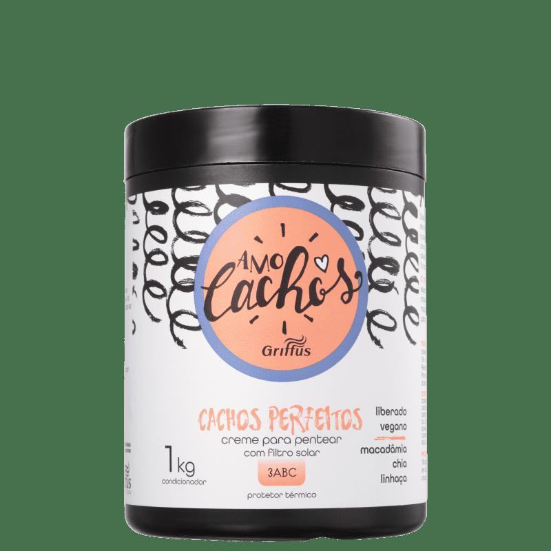 Griffus Amo Cachos Perfeitos - Creme de Pentear 1000ml