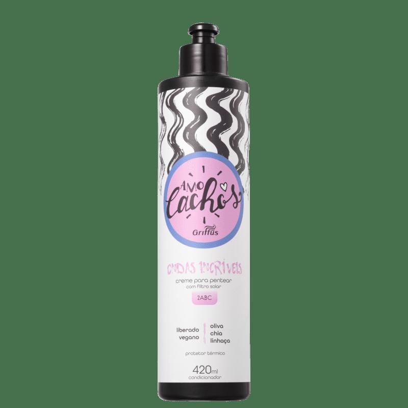 Griffus Amo Cachos Ondas Incríveis - Creme de Pentear 420ml