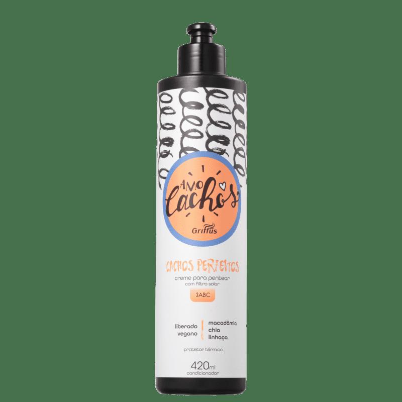 Griffus Amo Cachos Perfeitos - Creme de Pentear 420ml