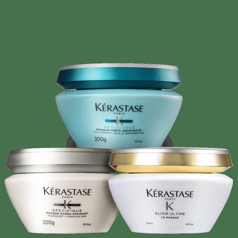 Kit Kérastase Cronograma Capilar Regeneração (3 Produtos)
