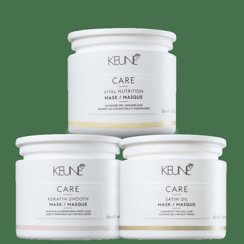 Kit Keune Cronograma Capilar Tratamento Intensivo (3 Produtos)