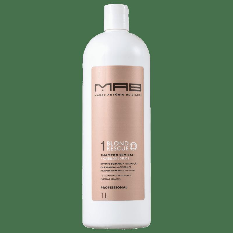 MAB Marco Antônio de Biaggi Blond Rescue - Shampoo 1000ml