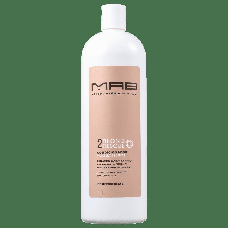 MAB Marco Antônio de Biaggi Blond Rescue - Condicionador 1000ml