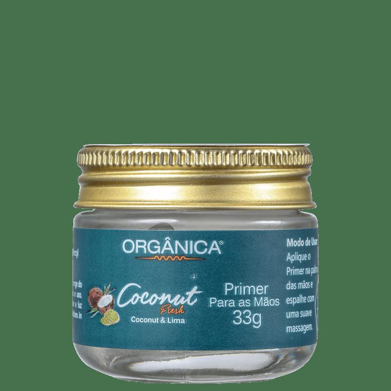 Orgânica Coconut & Lima - Primer para as mãos 90g
