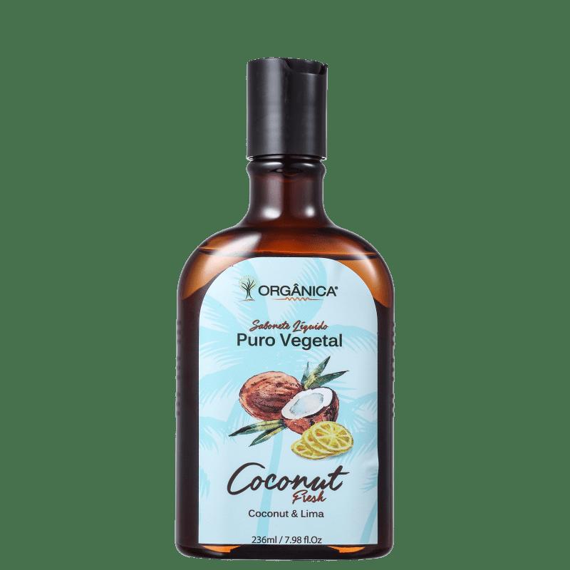 Orgânica Coconut & Lima - Sabonete Líquido Corporal 236ml