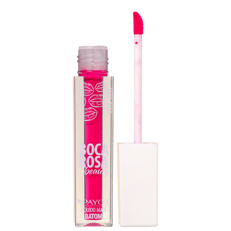 Boca Rosa Beauty Payot Shock - Batom Líquido Matte 4ml