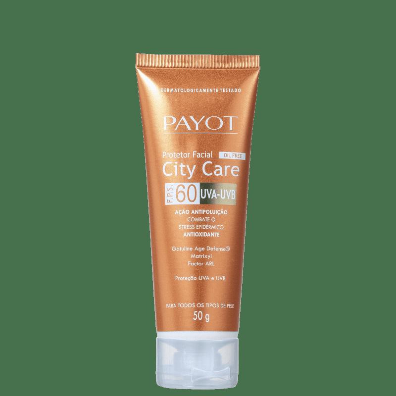 Payot Clinicien City Care FPS 60 - Protetor Solar Facial 50g
