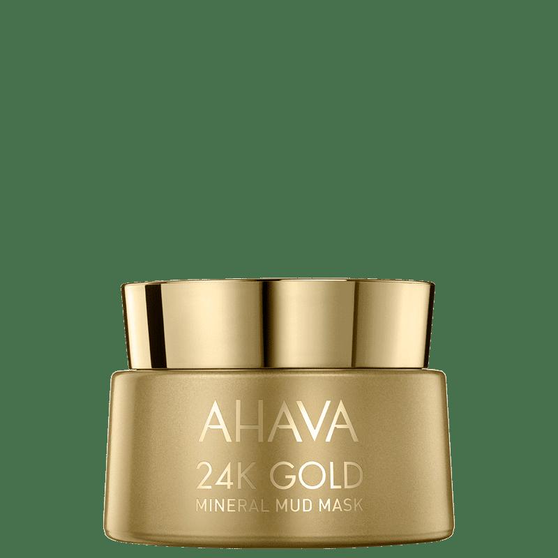 Ahava 24K Gold Mineral Mud - Máscara Facial 50ml