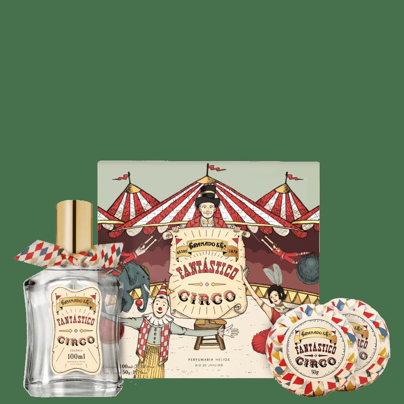 Kit Granado Fantástico Circo (3 Produtos + Brinde)