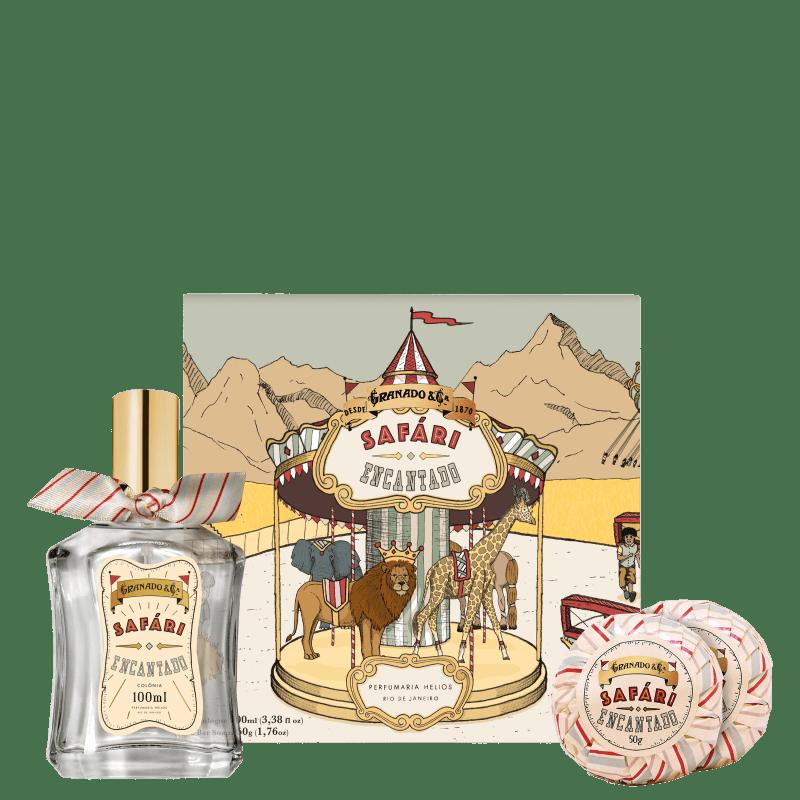 Kit Granado Safári Encantado (3 Produtos + Brinde)