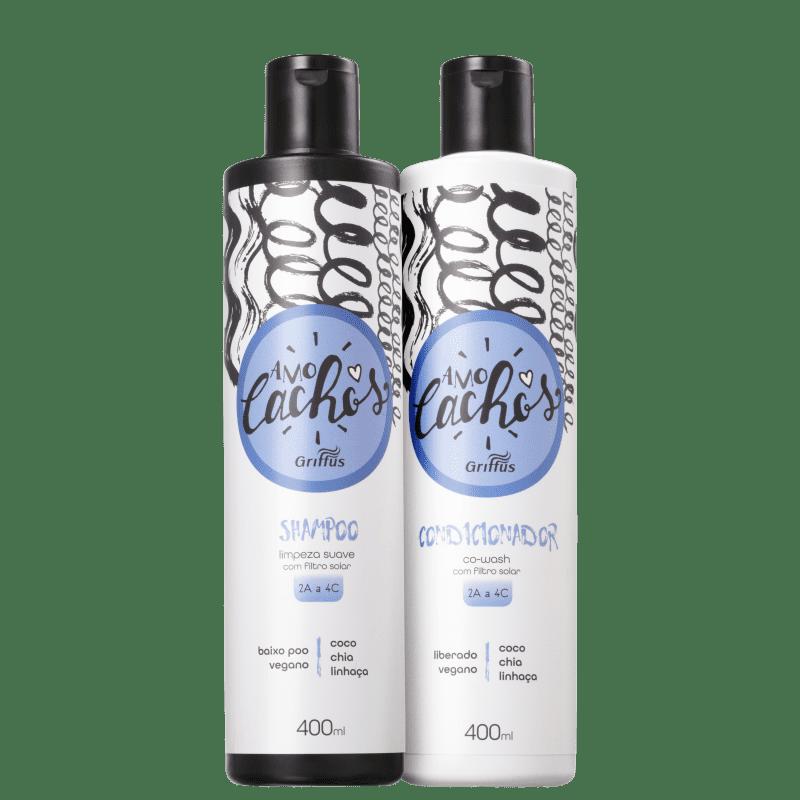 Kit Griffus Amo Cachos Co-Wash Duo (2 Produtos)