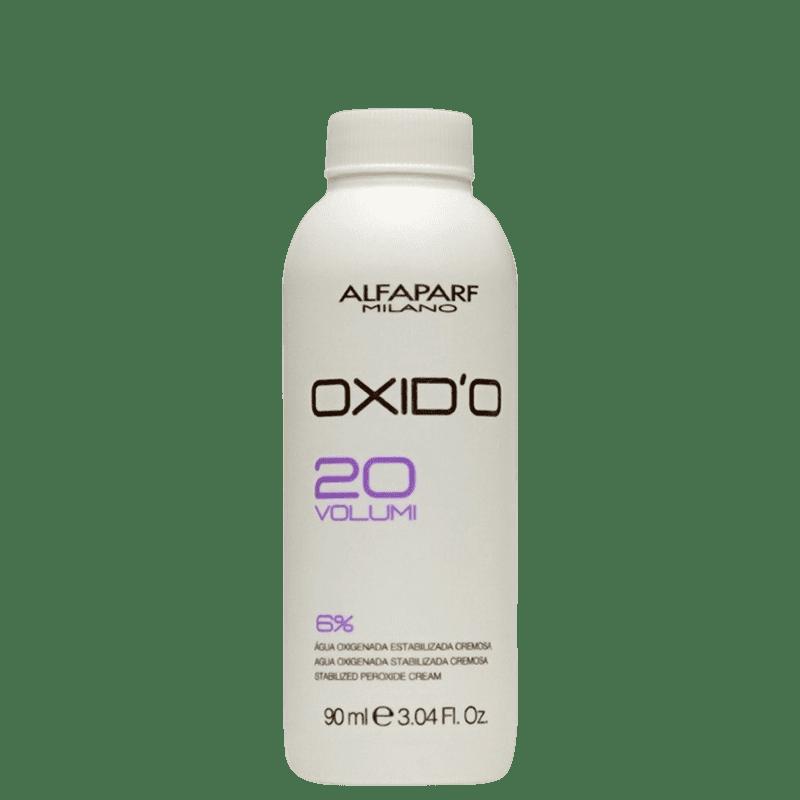 Alfaparf Oxid'o 6% - Água Oxigenada 20 volumes 90ml