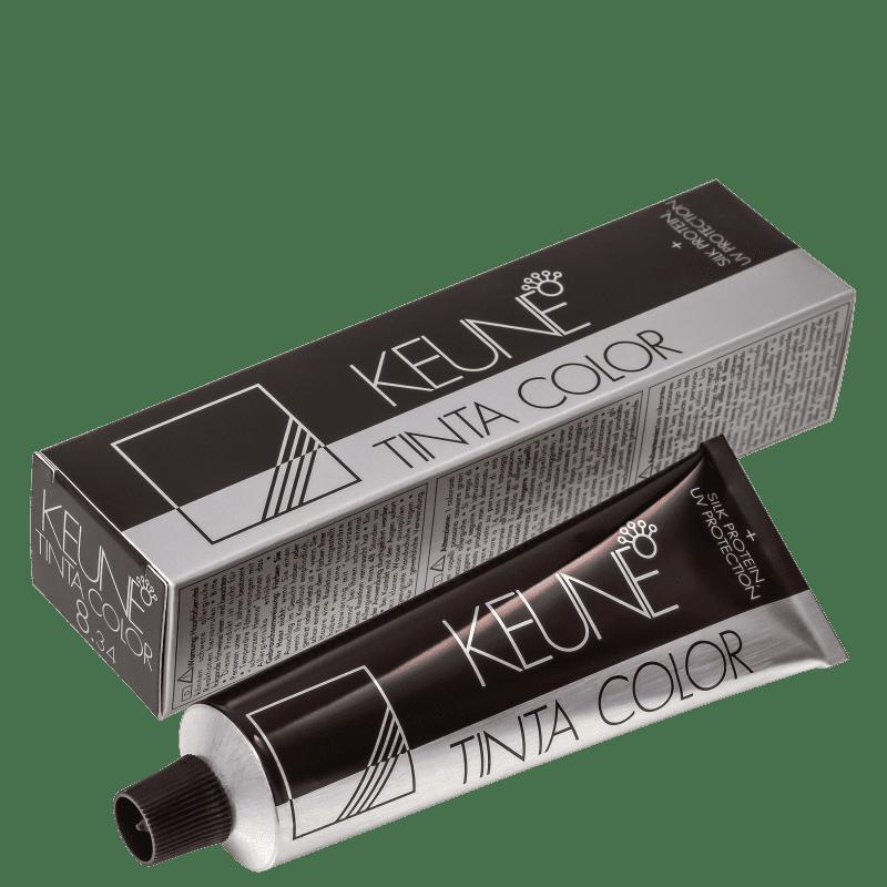 Keune Tinta Color 8.34 Louro Claro Dourado Cobre - Coloração 60ml