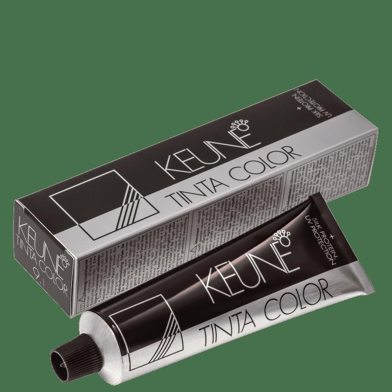 Keune Tinta Color 9.1 Louro Muito Claro Cinza - Coloração 60ml