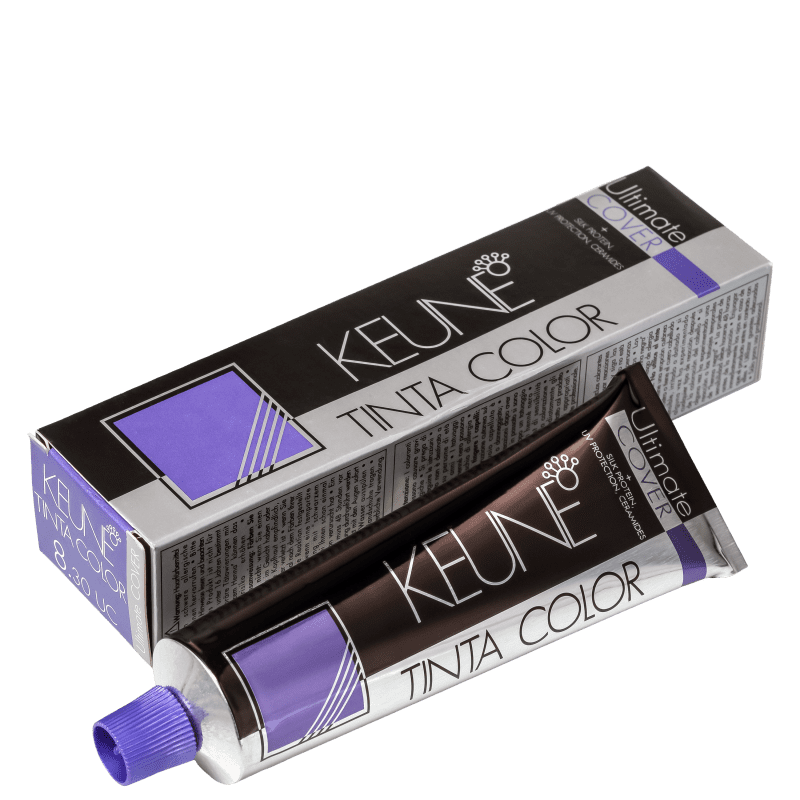 Keune Tinta Color Ultimate Cover 8.30 Louro Claro Dourado Natural - Coloração 60ml