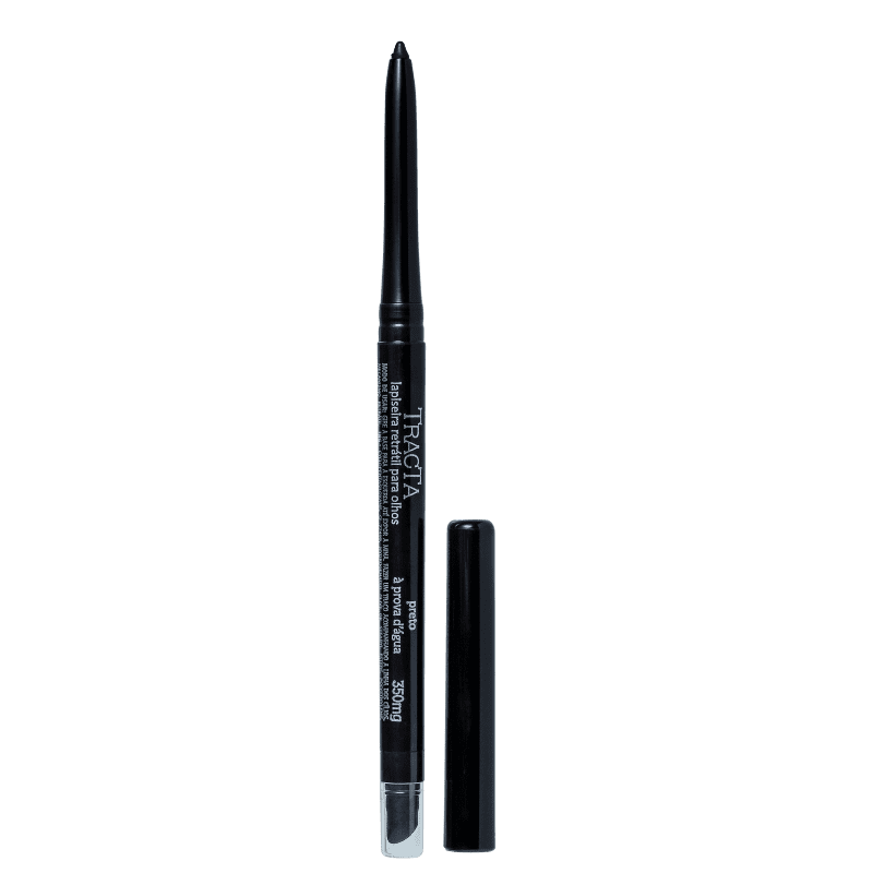 Tracta Lapiseira Retrátil Preto - Lápis de Olho 0,28g