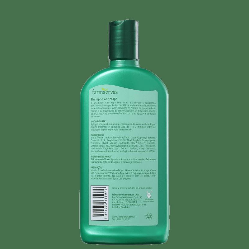 dandrene shampoo anticaspa preço