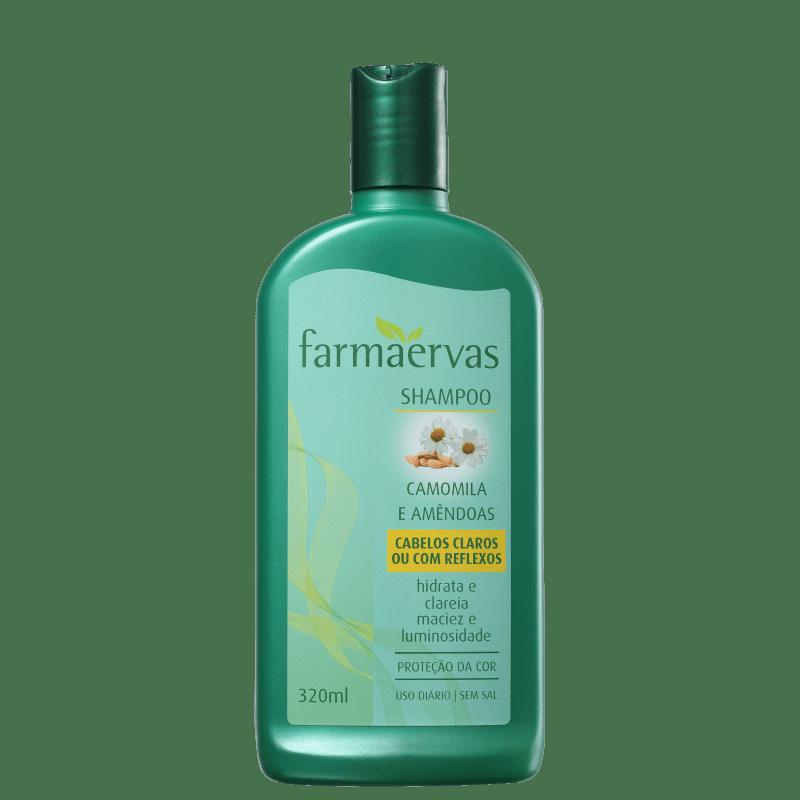 Farmaervas Camomila e Amêndoas - Shampoo 320ml