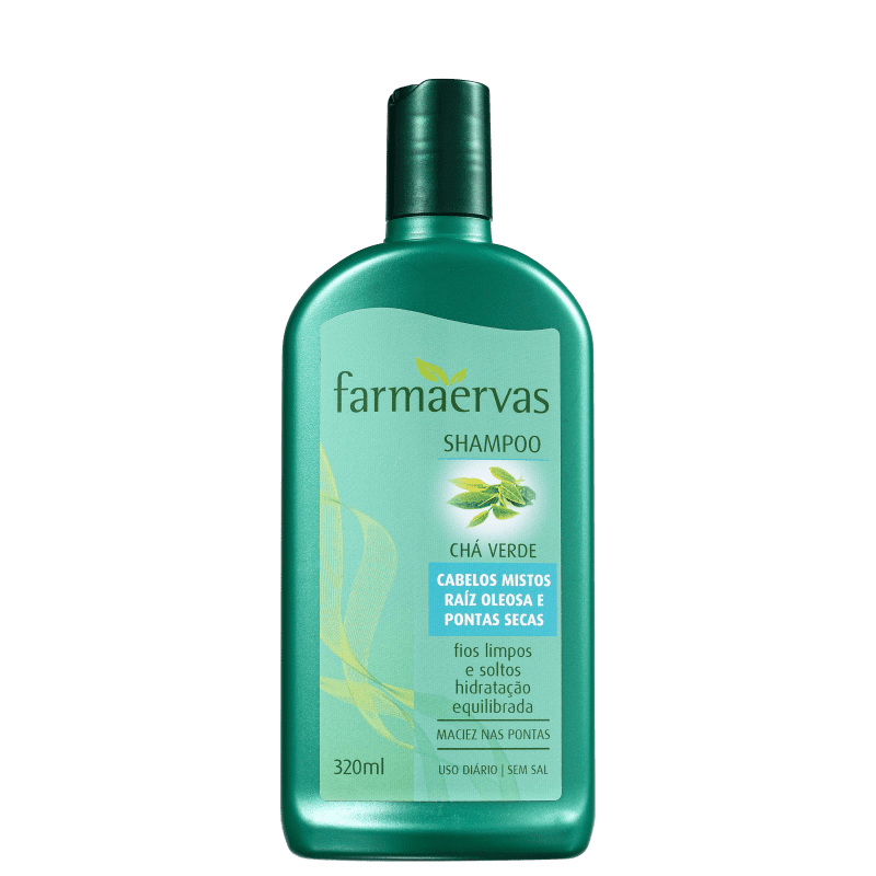 Farmaervas Chá Verde - Shampoo 320ml