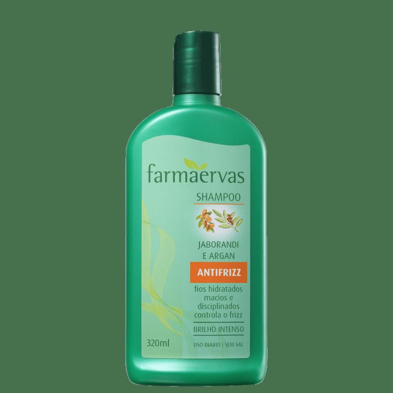 Farmaervas Jaborandi e Argan - Shampoo 320ml