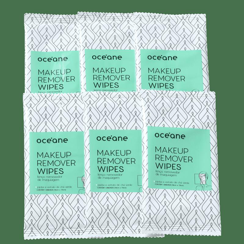 Océane Makeup - Lenço Demaquilante (6 Unidades)