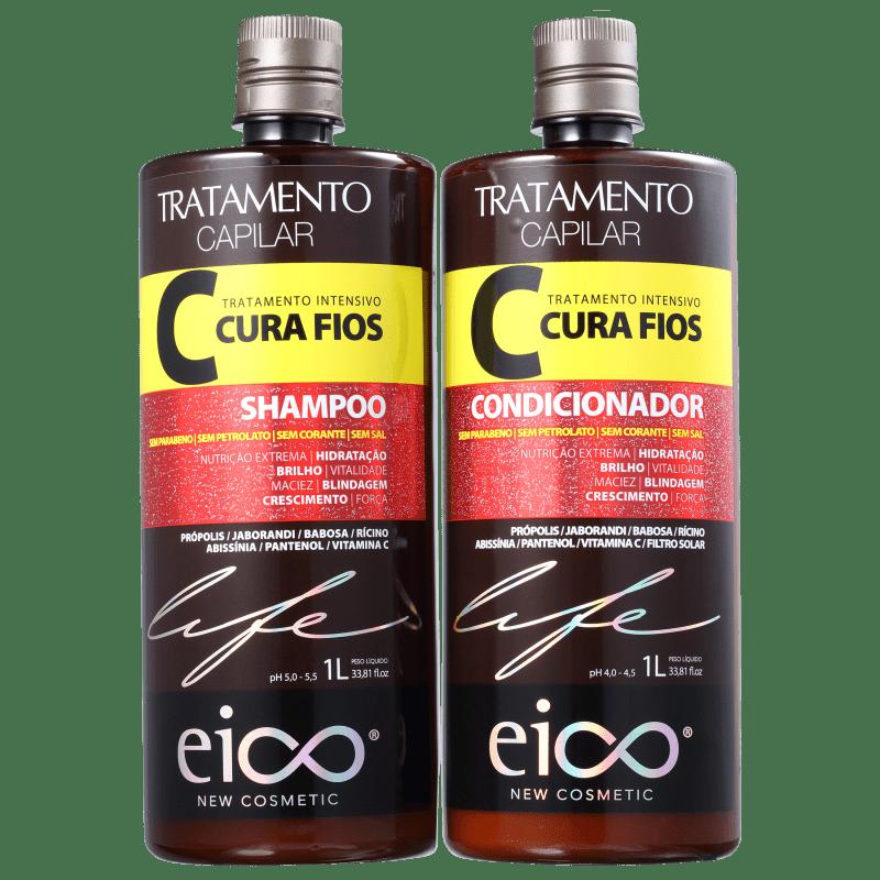 Kit Eico Life Cura Fios Duo (2 Produtos)