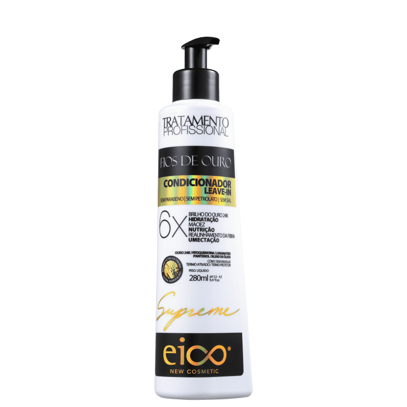 Eico Supreme Fios de Ouro - Condicionador Multifuncional 280ml