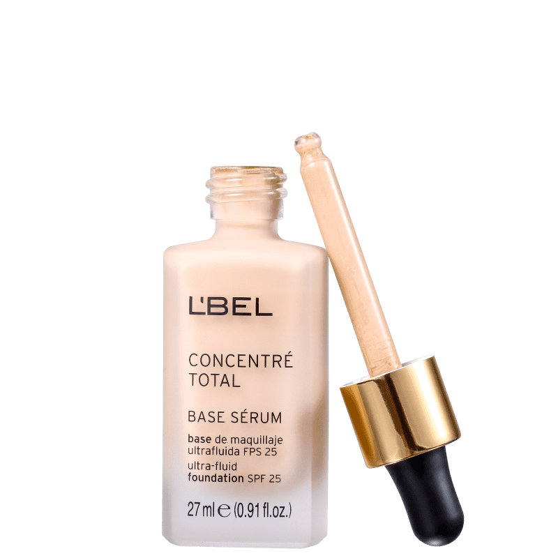 L'Bel Concentré Total Serum FPS 25 Medium 5 - Base Líquida 27ml