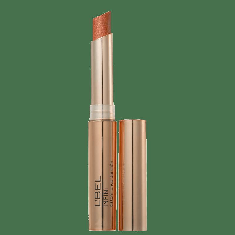 L'Bel Infini Dourado Metalizado Nude - Batom Metálico 2g