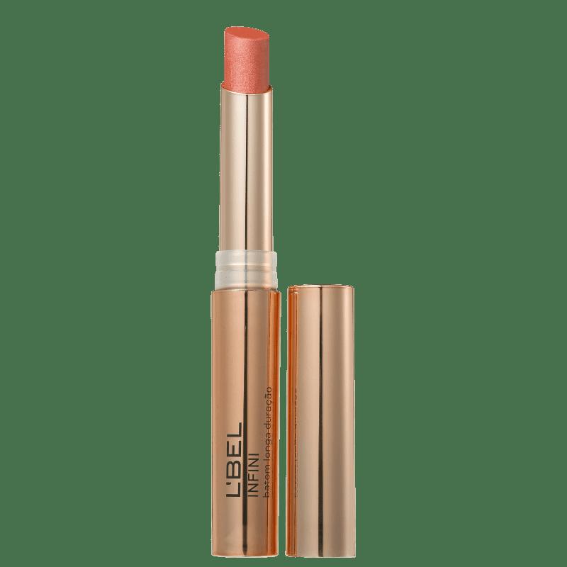 L'Bel Infini Dourado Metalizado Rose Gold - Batom Metálico 2g