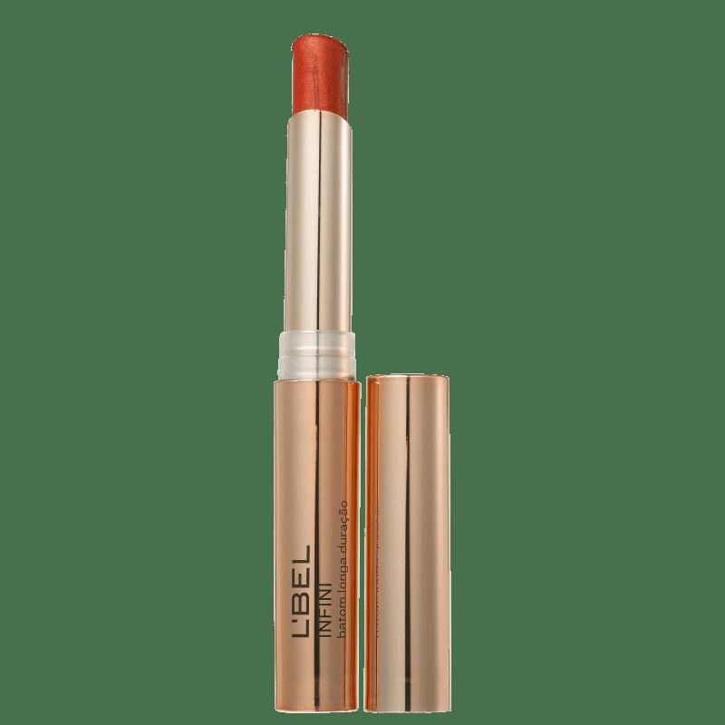 L'Bel Infini Dourado Metalizado Cobre - Batom Metálico 2g