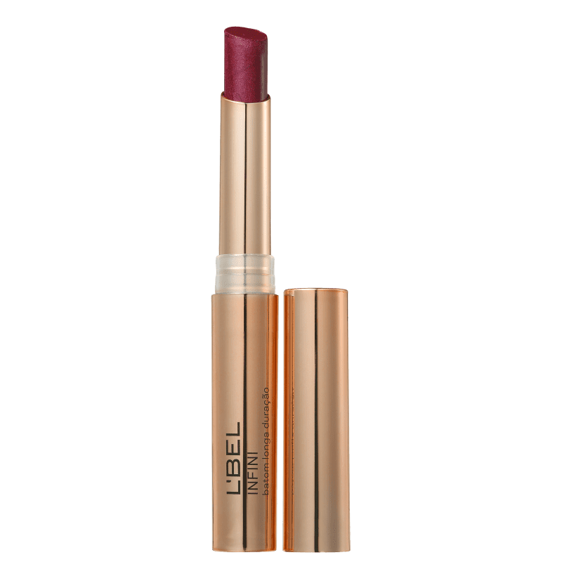L'Bel Infini Dourado Metalizado Vin - Batom Metálico 2g