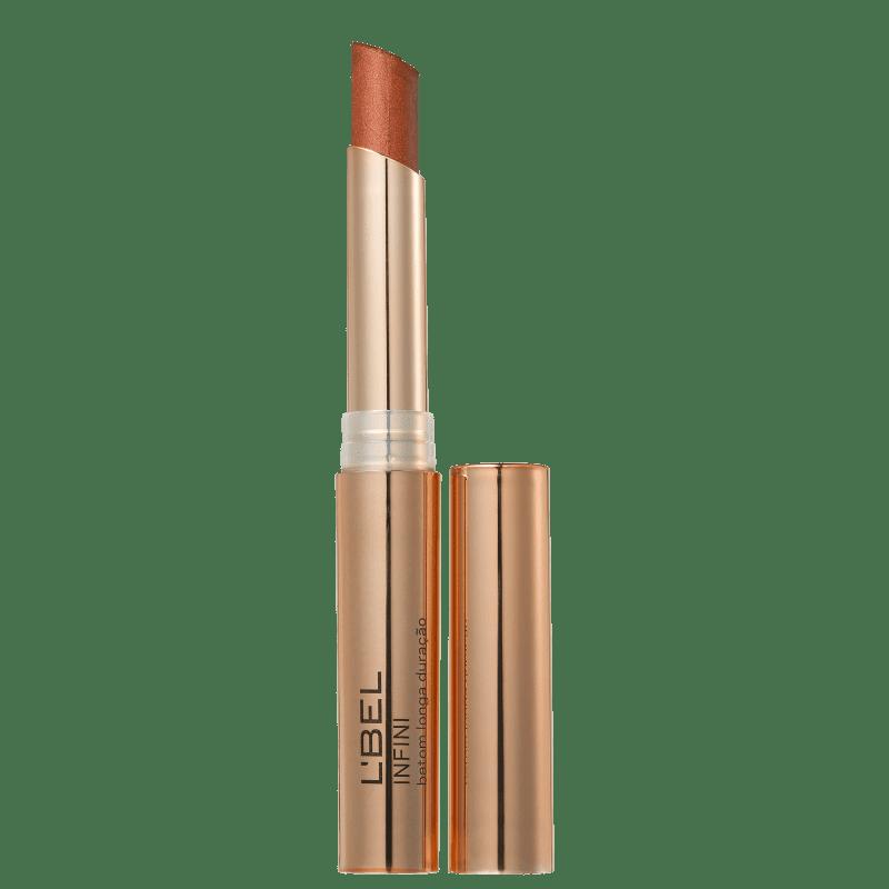 L'Bel Infini Dourado Metalizado Bronze - Batom Metálico 2g