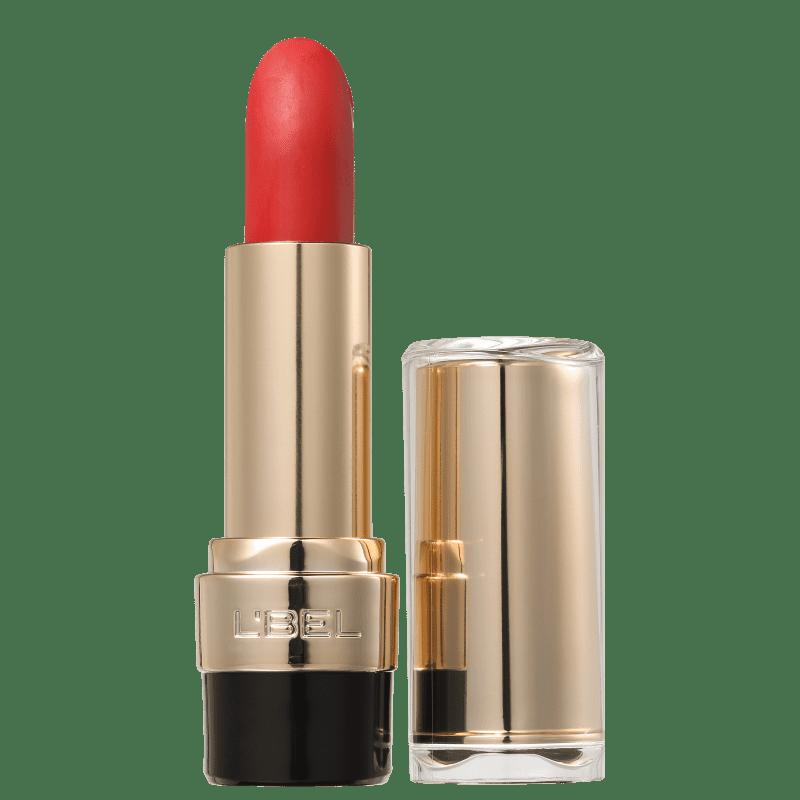 L'Bel Rouge L'Intense Rouge Escarlat - Batom Matte 4g