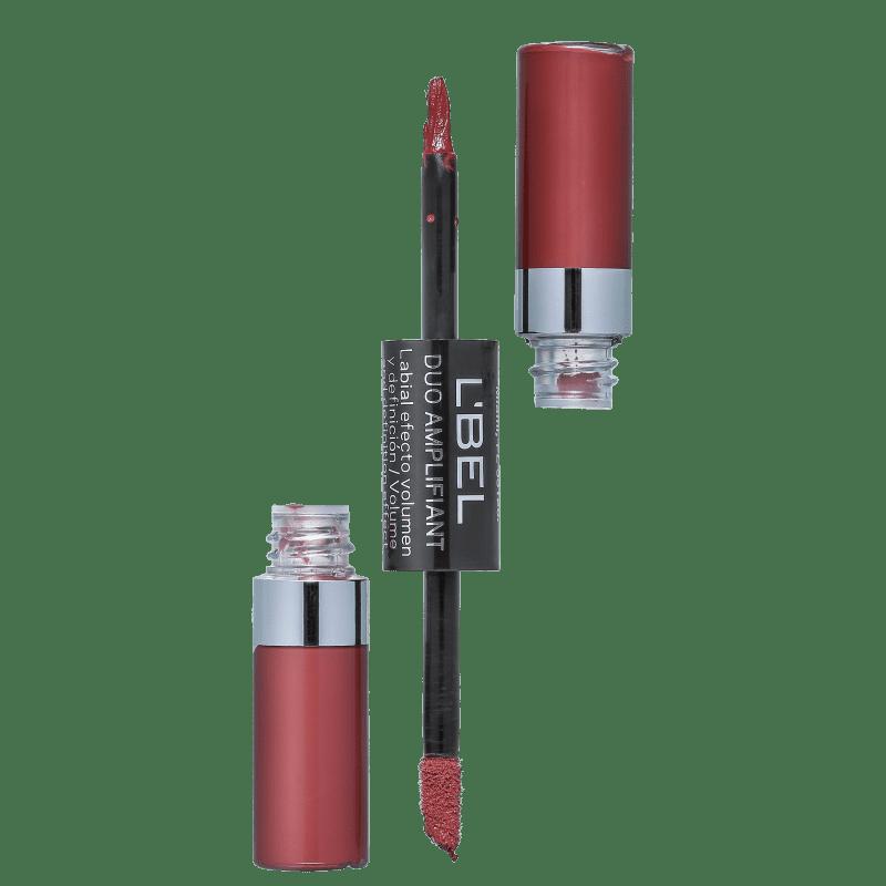 L'Bel Dual Amplifiant Caramel Rocha - Batom Líquido Matte 5g