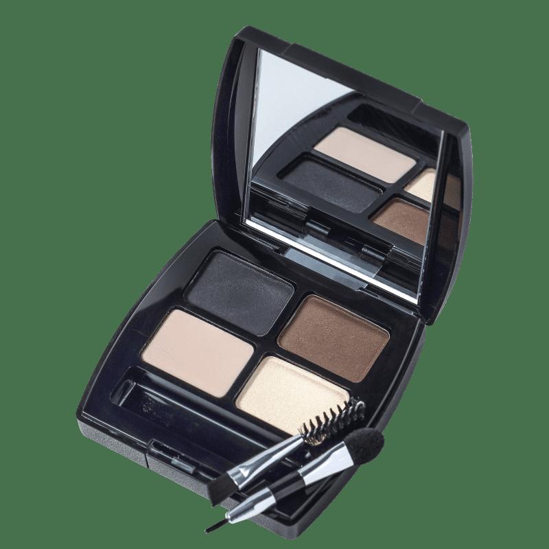 L'Bel Sobrancelhas e Olhos Perfeitos - Paleta de Sombras 4,4g