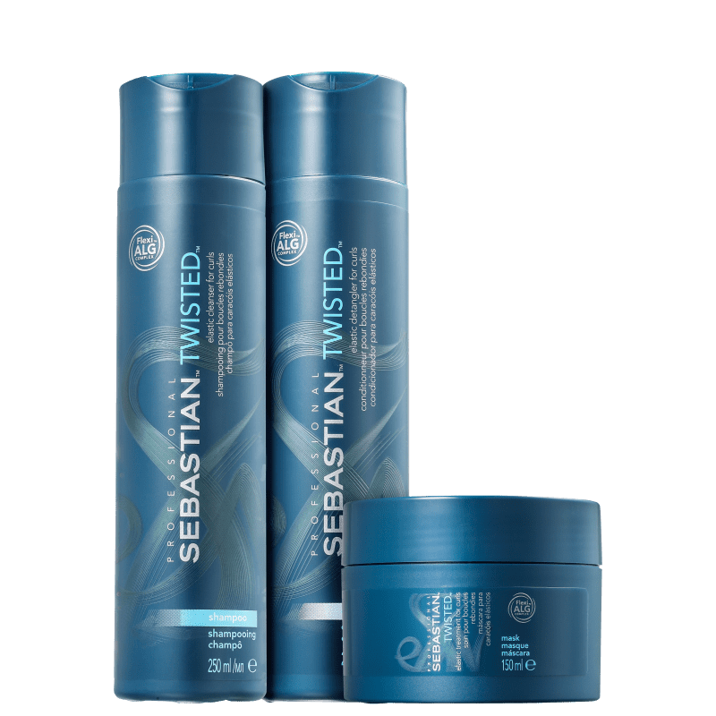Kit Sebastian Professional Twisted Elastic Trio (3 Produtos)