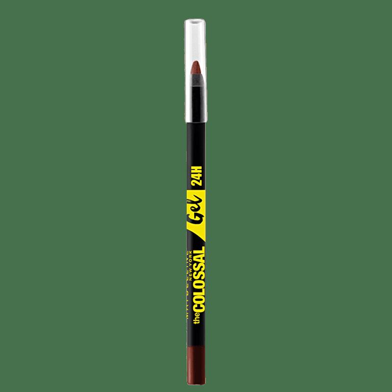 Maybelline Colossal Gel Marrom Puro - Lápis de Olho 1,2ml