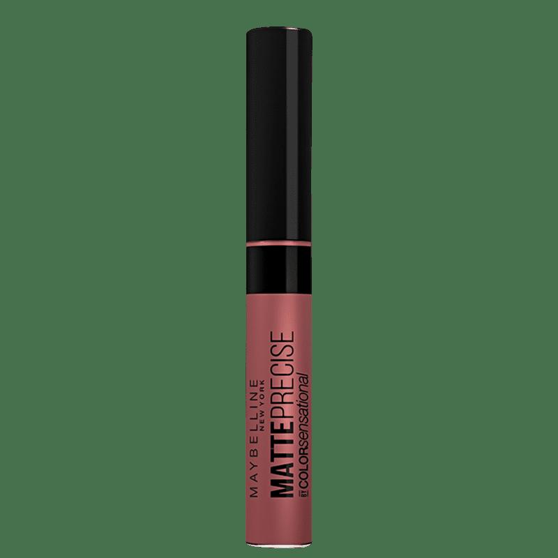 Maybelline Color Sensational Matte Precise Manda Nudes - Batom Líquido 5,5ml
