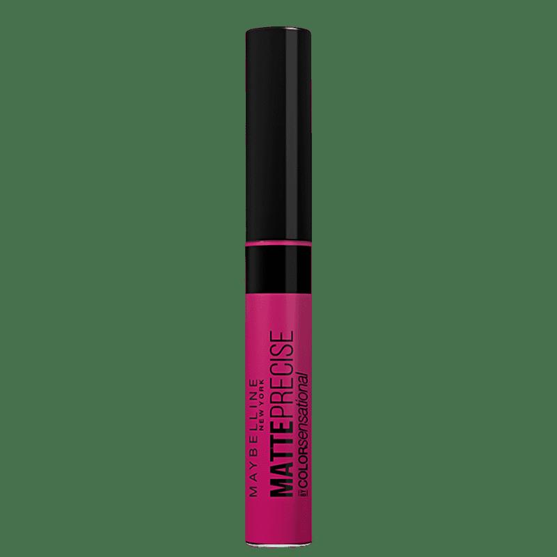 Maybelline Color Sensational Matte Precise Pink das Galáxias - Batom Líquido 5,5ml
