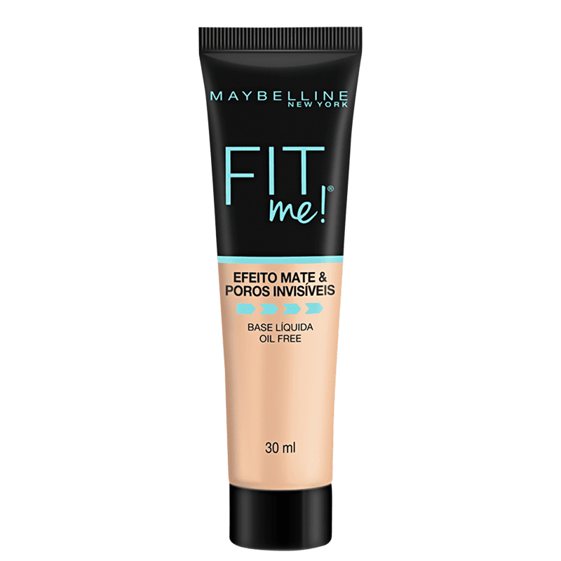 Maybelline Fit Me! Efeito Matte B100 - Base Líquida 30ml