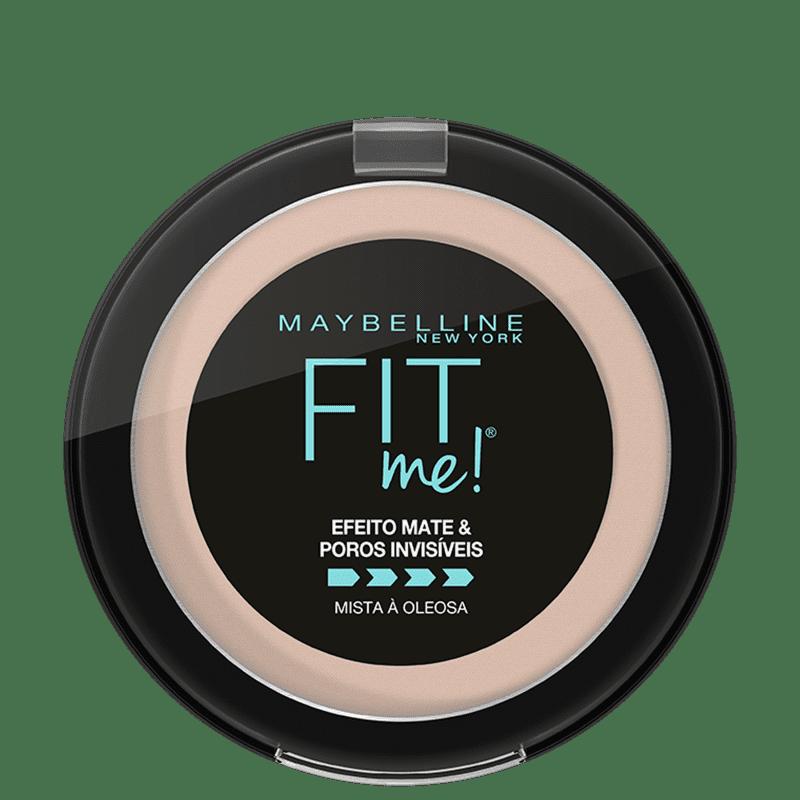 Maybelline Fit Me! N01 Super Claro Neutro - Pó Compacto Matte 10g