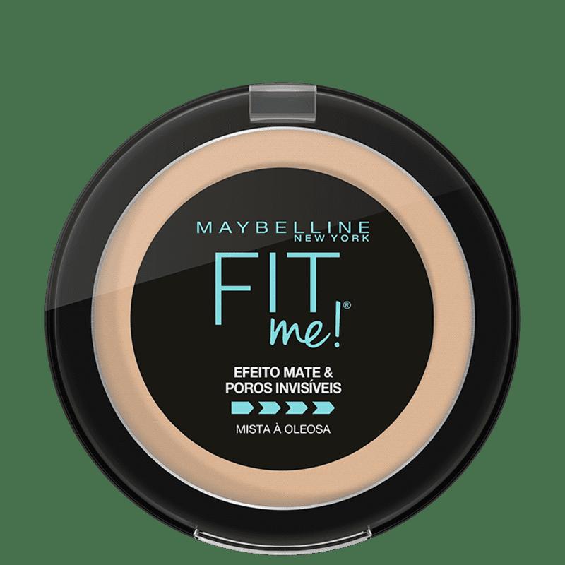 Maybelline Fit Me! B03 Médio Claro Bege - Pó Compacto Matte 10g