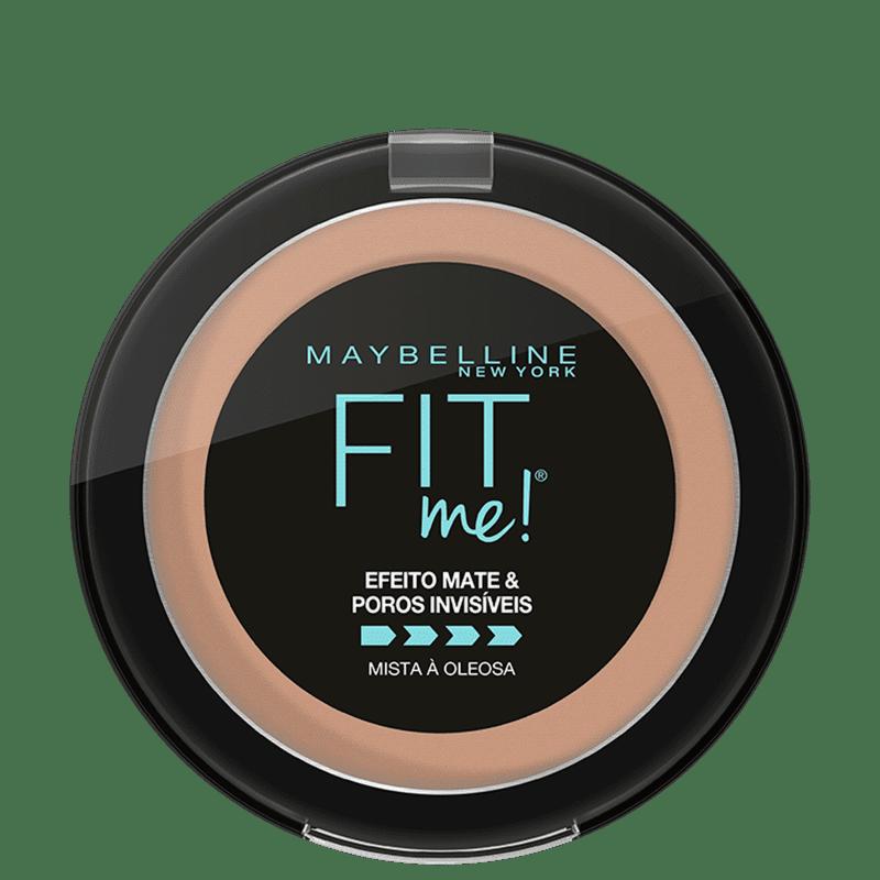 Maybelline Fit Me! R05 Médio Rosado - Pó Compacto Matte 10g
