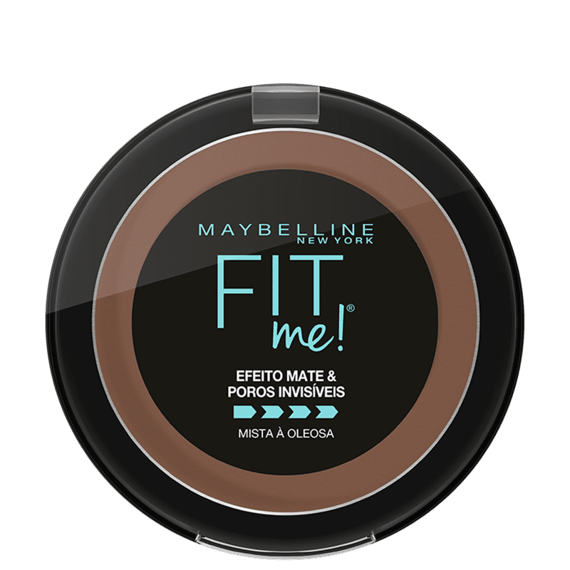 Maybelline Fit Me! R11 Marrom Escuro - Pó Compacto Matte 10g