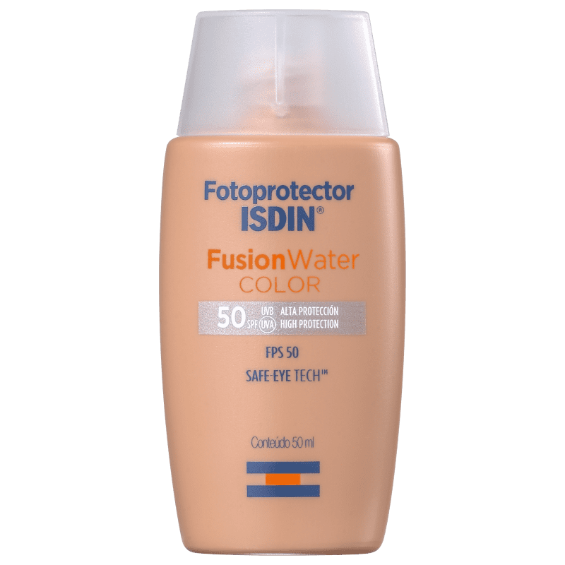 ISDIN Fotoprotector FusionWater Color FPS 50 - Protetor Solar com Cor 50ml