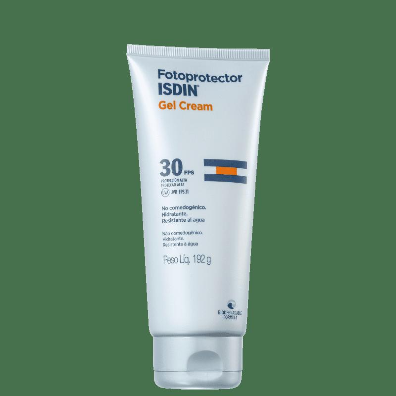 ISDIN Fotoprotector Gel Cream FPS 30 - Protetor Solar 192g